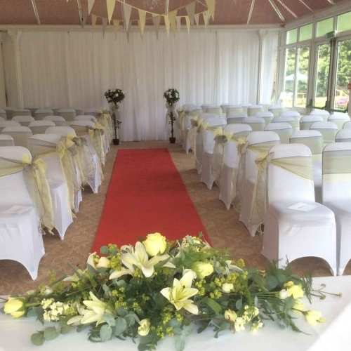 Civil Ceremony in the Wroxeter Suite